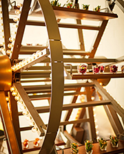Ferris wheel from Occasions Caterers