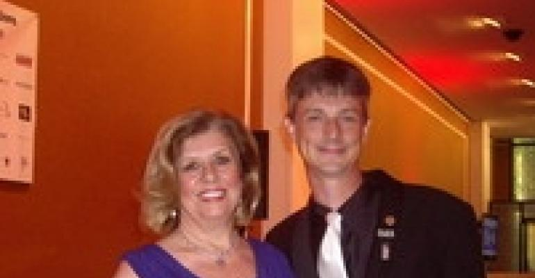 Sally Webb and Brian Acheson