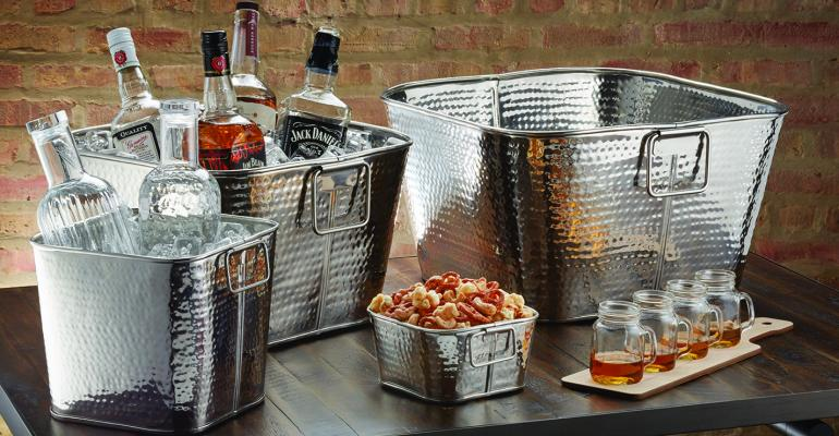 hammered stainless steel tubs
