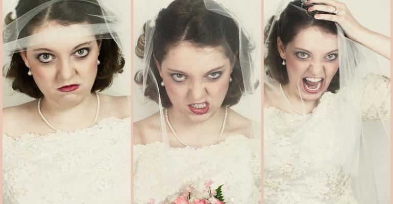 Angry brides
