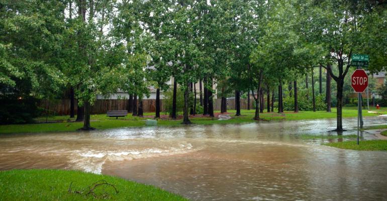 Houston flooding from Hurricane Harvey