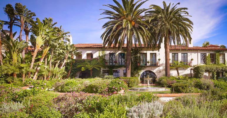 Four Seasons Resort the Biltmore Santa Barbara facade
