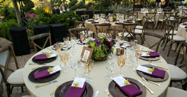 Crossback chairs from Apres Party and Tent Rental