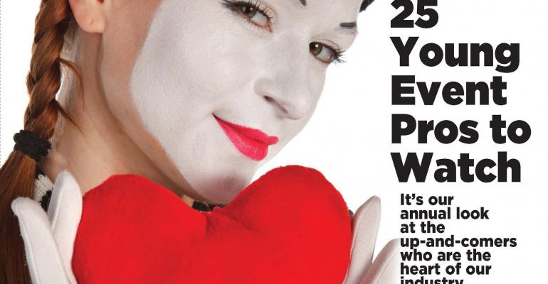 Mime with heart