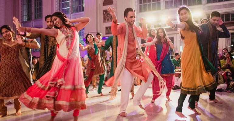 Wedded to Color: Significant Events of Texas Designs a Desi Wedding