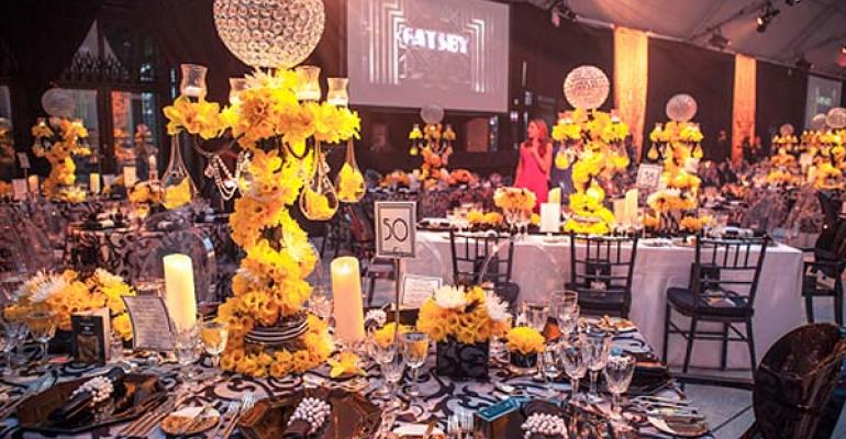 Gatsby Gala: Alison Silcoff Events Gins Up a 'Great Gatsby' Theme for the Daffodil Ball