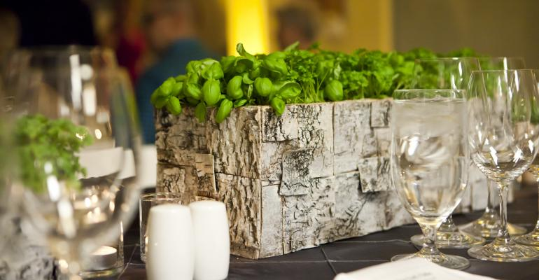Pretty Tasty: Caterers Create Beautiful Centerpieces with Food, not Floral