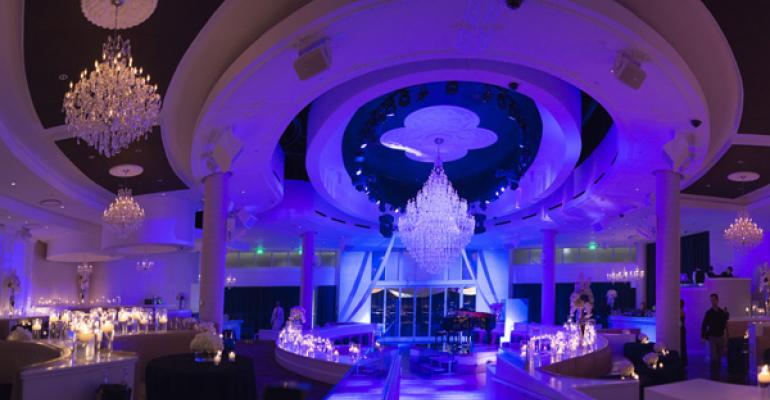 Vows in Vegas: Brit Bertino Uses High-end Venues for a High-style Wedding