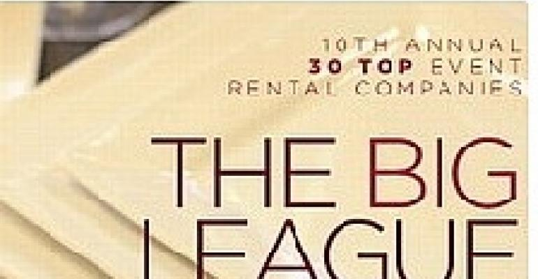 10th Annual 30 Top Event Rental Companies List