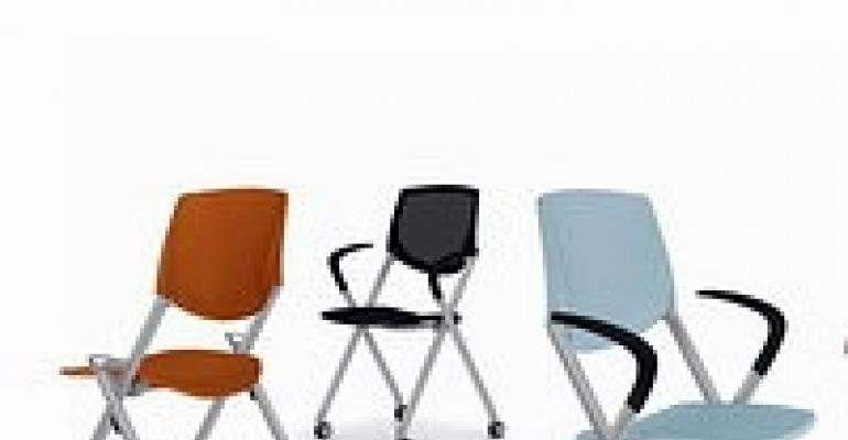 New Allsteel Meeting Chair, Cordon Bleu Books and Alice Pop Chair