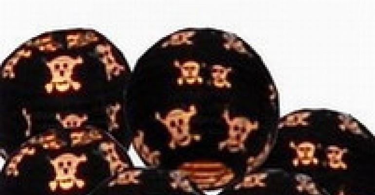 Halloween Lanterns, Gearhead Flatware, Custom Bead Decor