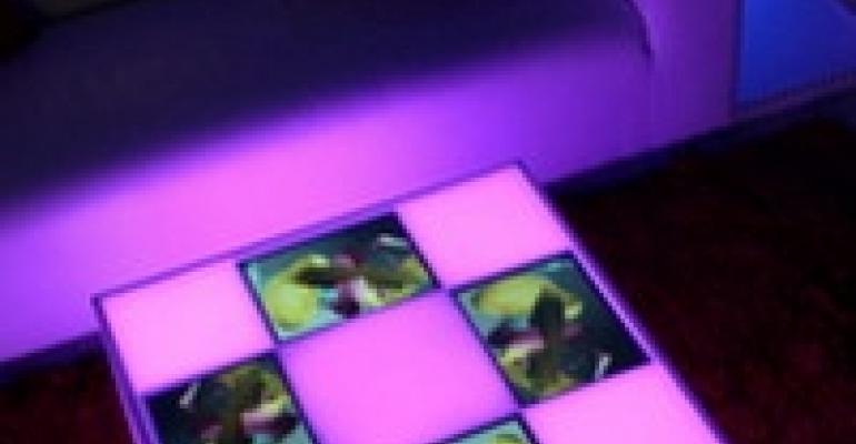 "V-Cube Video Table, Digital Learning Environment, Sleek ""Tyler"" Chair"