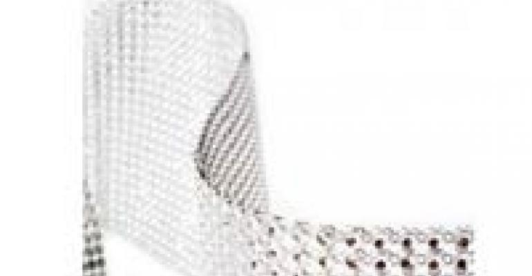 New Rhinestone Ribbon, Sparkle Ball, QR Code Tags