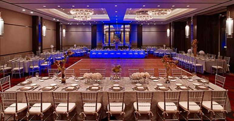 A Joule Hotel ballroom photo by Eric Laignel