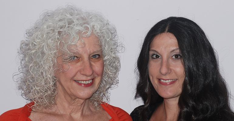 Cigall Goldman and Sheryl Daboosh left are the owners of Mazelmomentscom an awardwinning website dedicated to planning Jewishinspired events including weddings bar and bat mitzvahs and baby celebrations