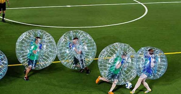 Soccer Bubble game from Coco Events