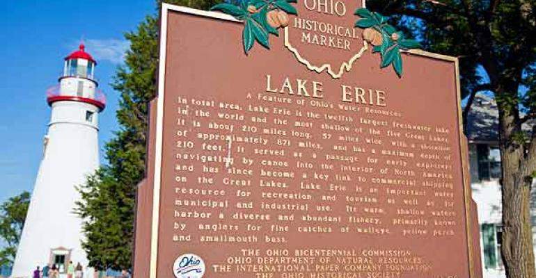 Lake Erie Historic Marker