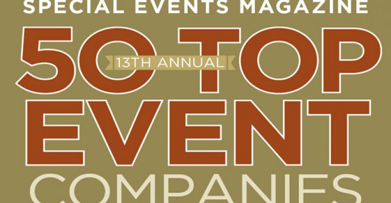 Special Events 13th annual 50 Top Event Companies