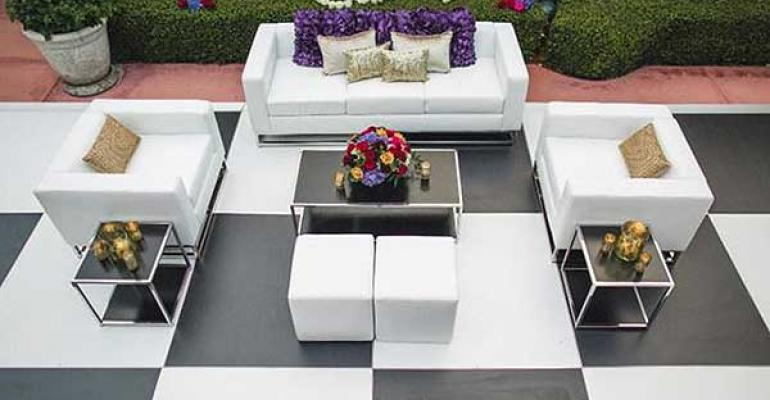 Classic Party Rentals Vogue lounge furniture