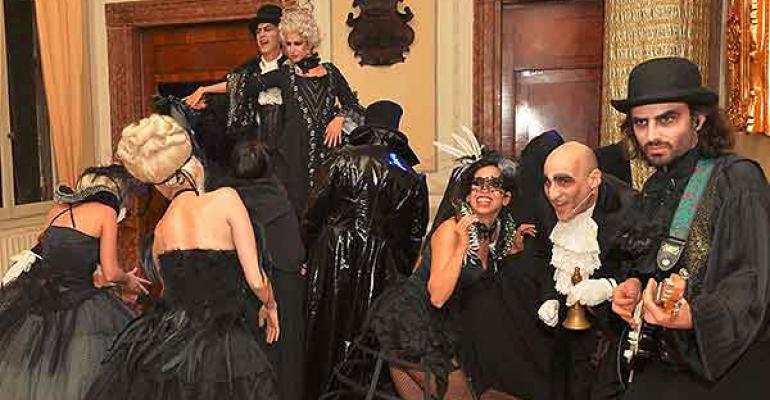 Tova Wald Offers Genuine Venetian Masked Balls