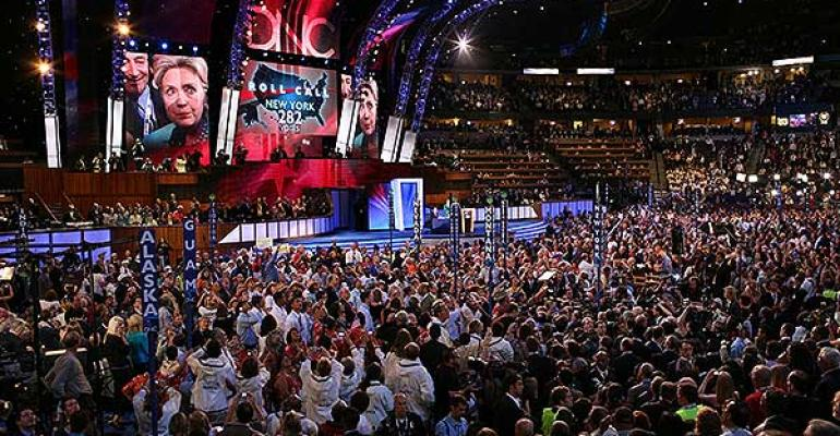 The 2008 Democratic National Convention in Denver