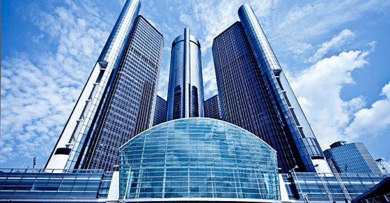 GM headquarters in Detroit