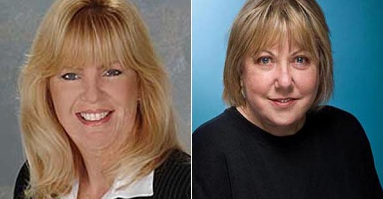 Kelly Murphy left and Joann RothOseary