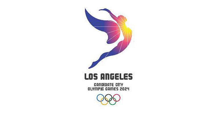 Los Angeles Olympics 2024 logo