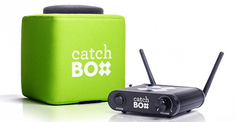 Catchbox microphone