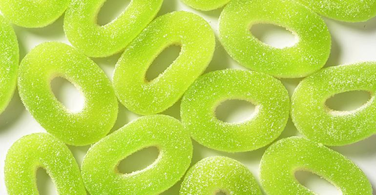 Gummy ring candy