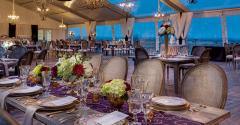 Vineyard wedding from Marquee