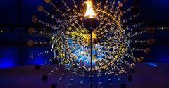 Olympic cauldronin Rio