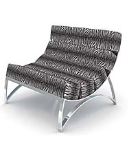 A chair from CORT's Lounge 22's 'Wild' line.