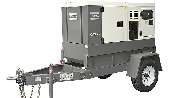 Atlas Copco power generator