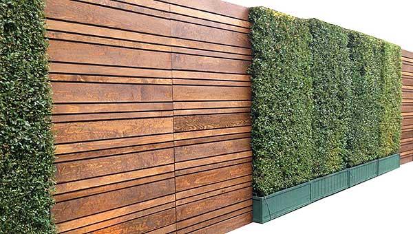 wood slat wall decor effect wallpaper slatwall wooden shelves designer double side