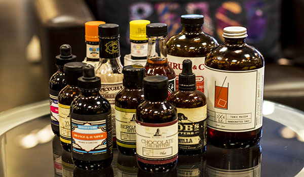 Syrups from Fairmont the Queen Elizabeth