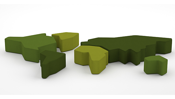 Mundo ottoman seating from Blueprint