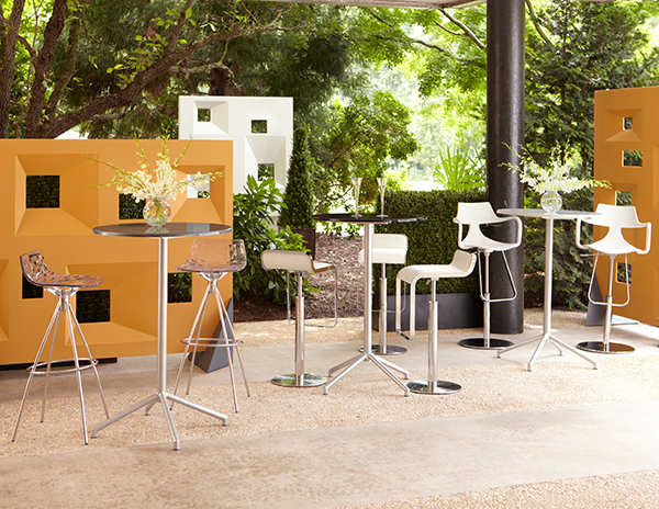 Luxury Set the perfect backdrop with Miramar Dividers plemented by bar tables and patio tables