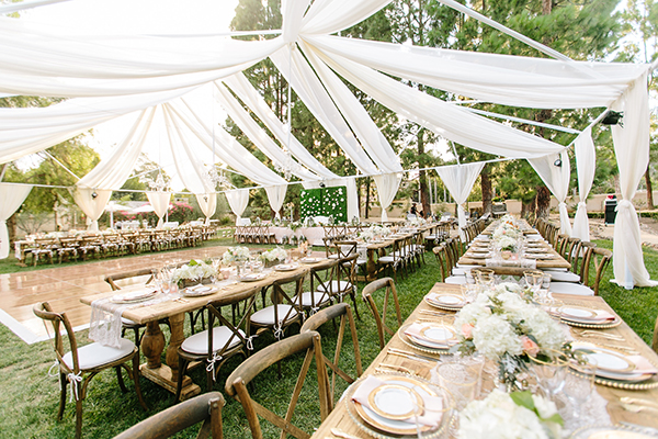 We love how tents can truly transform a space; this backyard reception features a magnificent open-air tent ... & The Team Behind the Wedding Event at The Special Event 2017 ...